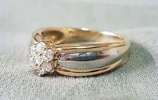 Diamond Ring with Platinum and Gold