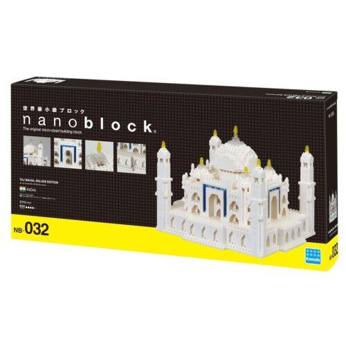 Taj Mahal Deluxe Edition Nanoblock Micro Sized Building Block 2210 pieces NB032