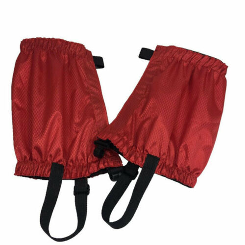 Outdoor Hiking Boot Gaiters Waterproof Snow Legging Cover Trekking Climbing UK