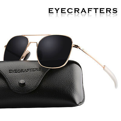 DESIGNER polarized Sunglasses Mens Sports Classic Driving Pilot Rimless Glasses