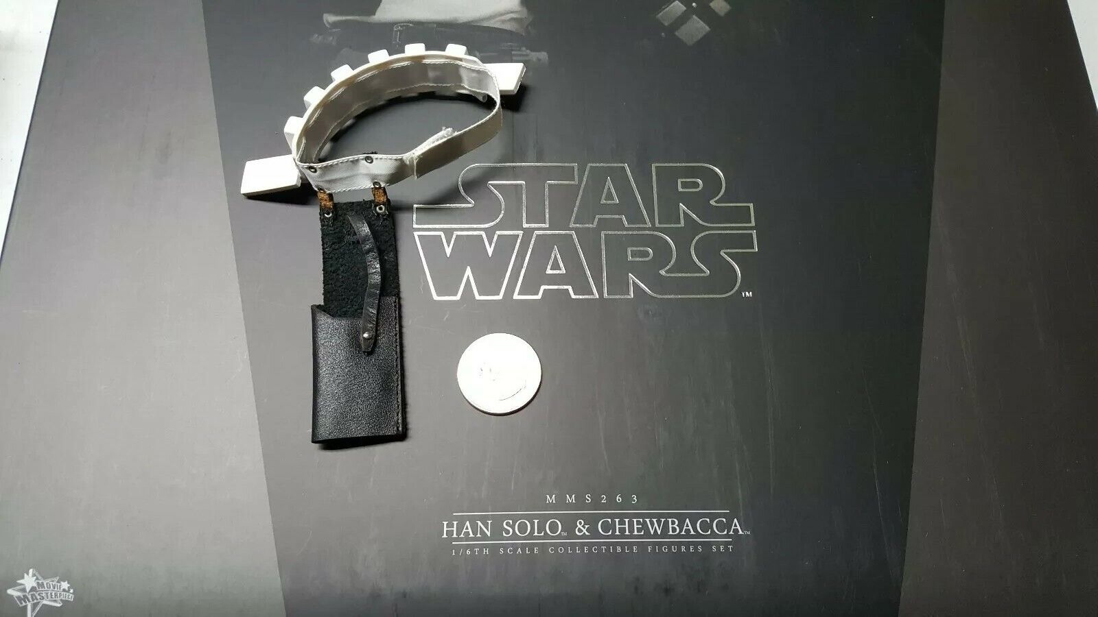 Hot Toys MMS263 Star Wars Han Solo Exclusive 1 6 Figure's stormtropper Belt only