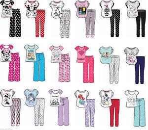 Disney-Marvel-Harry-Potter-Ladies-Girls-Short-Sleeve-Pyjama-Set-Nightwear-Pjs