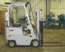 Clark Forklift 2200 Lb 48 Forks Cat Side Shift