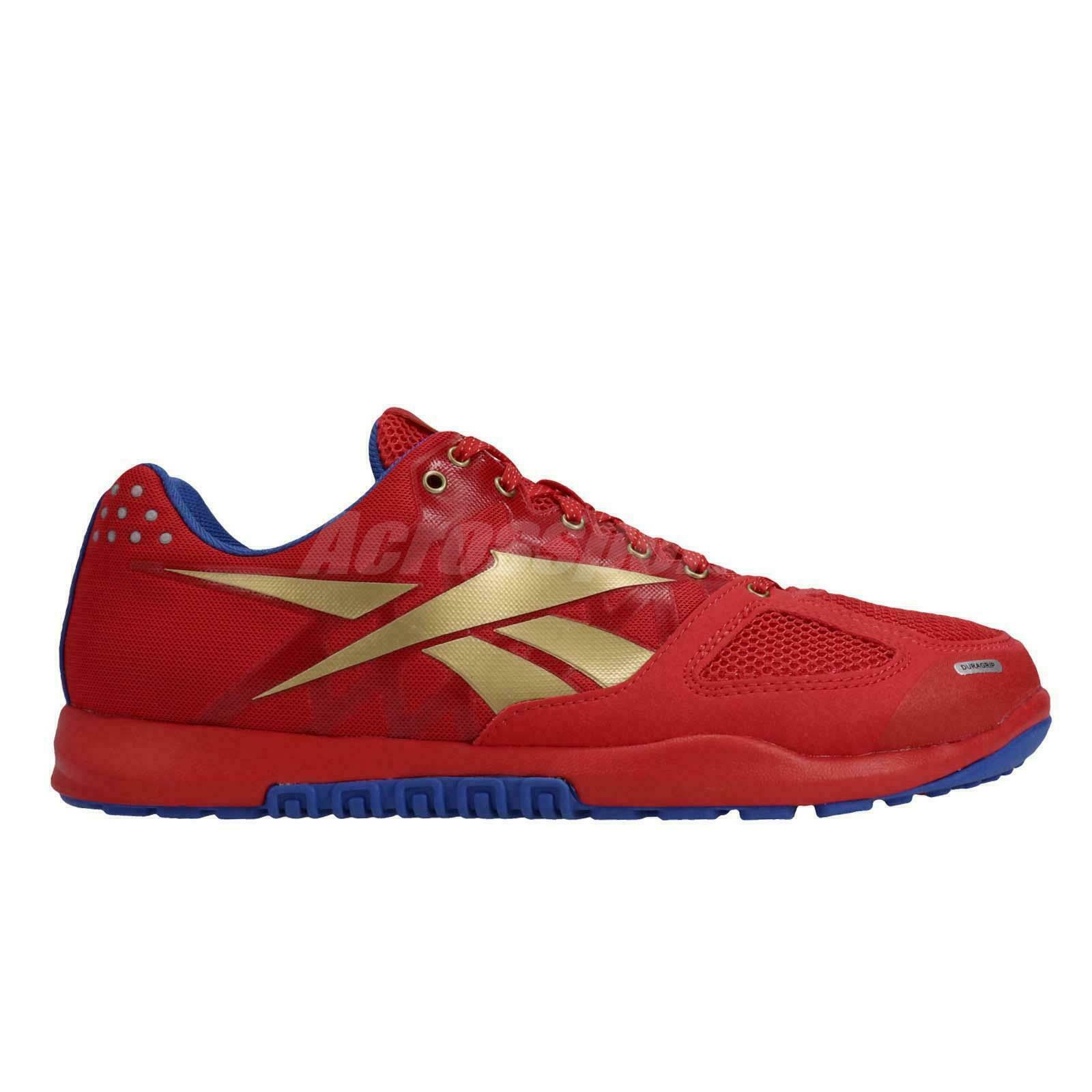 Nuevo Reebok R Crossfit Nano 2.0 para Hombre Zapatos de entrenamiento (DV5758) Rojo cobalto Tamaño 9