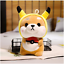 thumbnail 3 - Cute-Kawaii-Shiba-Inu-Corgi-Dog-Plush-Toy-Pikachu-Elephant-Bunny-Strawberry