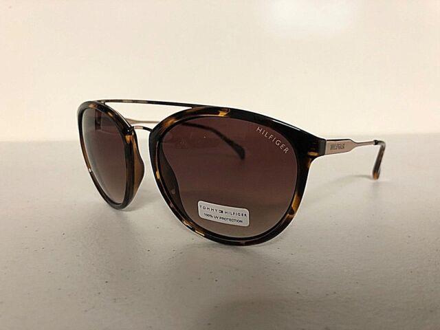 Tommy Hilfiger Women S Designer Fashion Sunglasses Eyewear Tortorise Gold For Sale Online Ebay