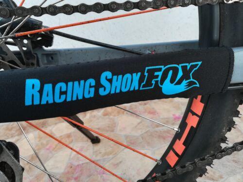 Bike Schutzausrüstung Kettenstrebenschutz FOX Blau Hinter Chain Protection