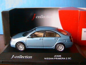 Nissan primera 2.0 c light blue metal j-collection jc026 1.43 light blue metal