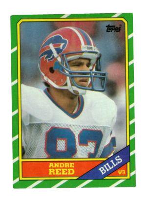 1993 Skybox Premium # 256 Mint Buffalo Bills Andre Reed Football Card