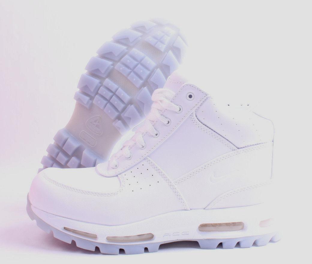 Nike air max goadome acg - männer weißen klar boden männer - sz - 8 - 13. f4fc56