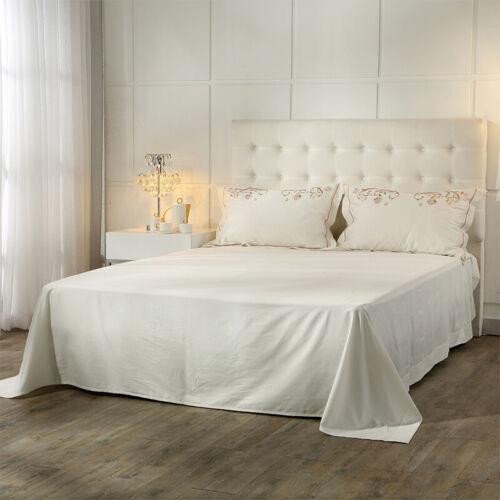 4pcs Embroidery Bedding Set Duvet Set Flat Sheet Wedding Pima Cotton Pillowcase