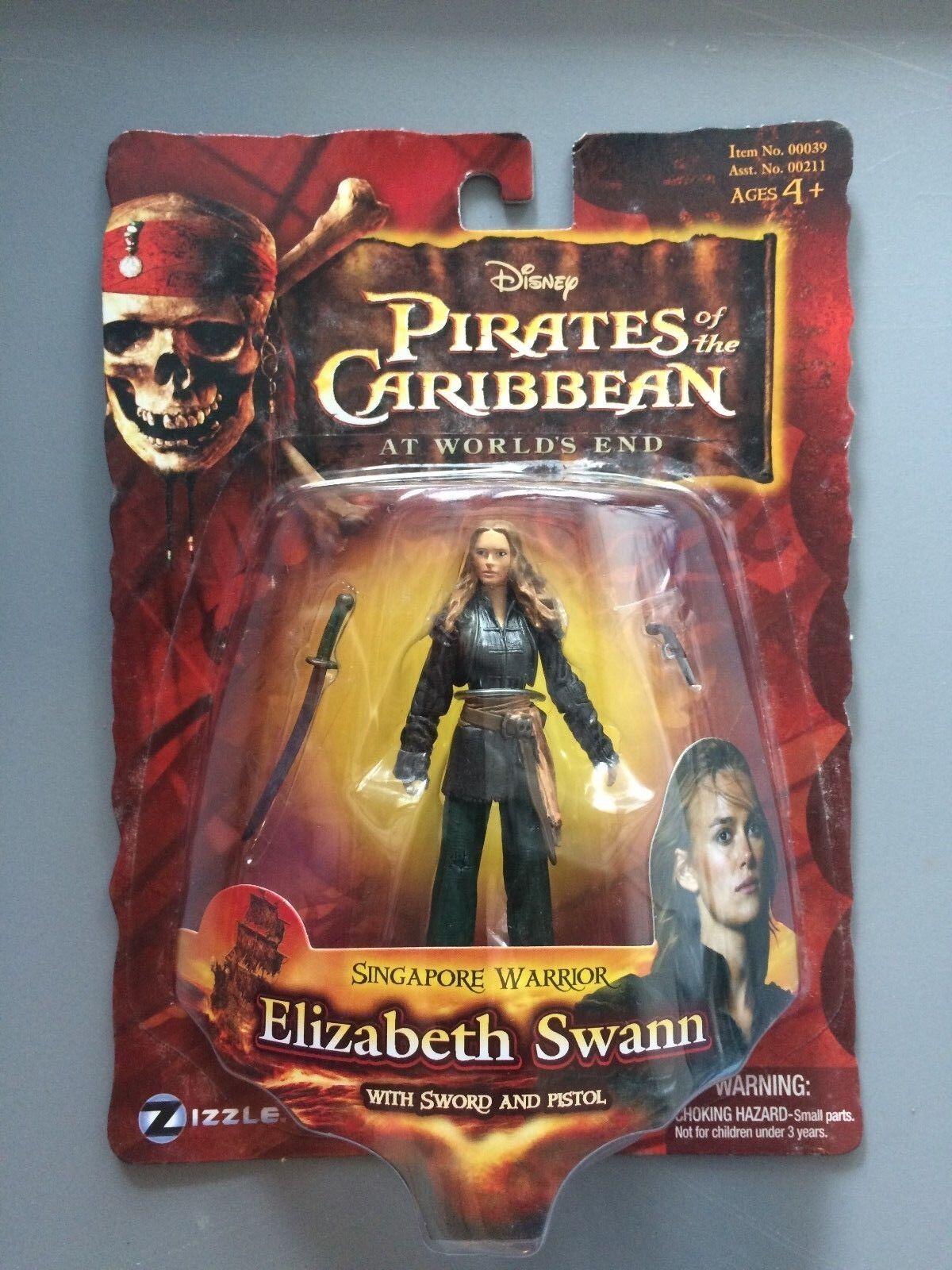 Sizzle Pirates of the bilibbean I värld's End Singapore Warrior Elisabath SWANN