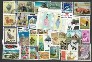 1000 worldwide large all different stamps collection many thematics