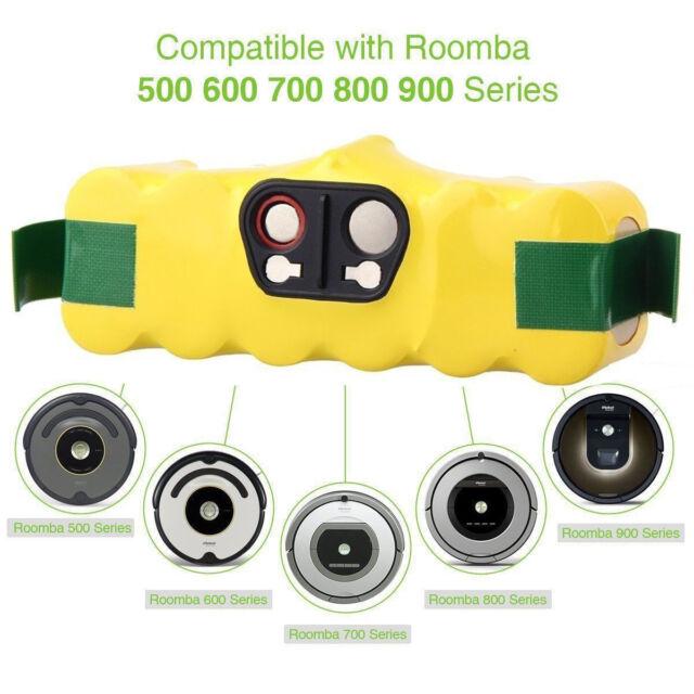 Staubsaugerroboter-Akku Ni-MH für iRobot Roomba 760 770 780 790-14,4V