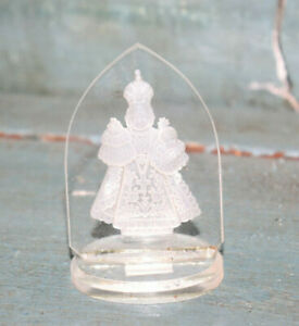 Cristal-De-Bohemia-Objeto-De-Decoracion-de-Vitrina-Religioso-6CM-Miniatura