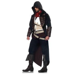 Assassins Creed Costume Adulto Pirata Arno Dorian Halloween Fancy