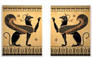 greek roman griffin art prints ebay
