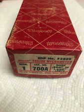 Vintage Starrett 700 Inside Micrometer Em