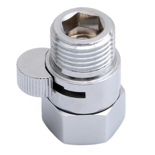 "G1//2/"" Quick Control Water Flow Shower Head Shut-Off Valve for Shower Head NEW S"