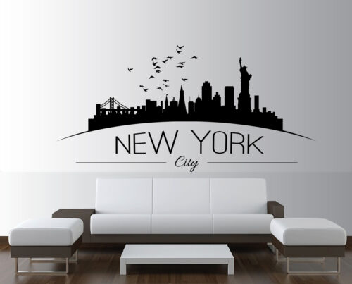 Large-NYC-New-York-City-Skyline-Silhouette-Bedroom-Wall-Art-Sticker-Wall-Decal