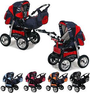kombi kinderwagen babywagen buggy speed schwenkschieber. Black Bedroom Furniture Sets. Home Design Ideas