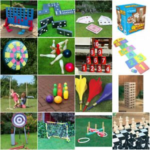 Giant Garden Games Outdoor Summer Beach Bbq Kids Fun Games Quoits