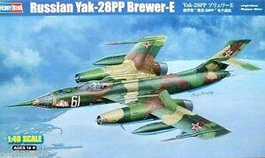Hobbyboss 1:48 Yak-28PP Brewer-E Russe Aircraft Model Kit