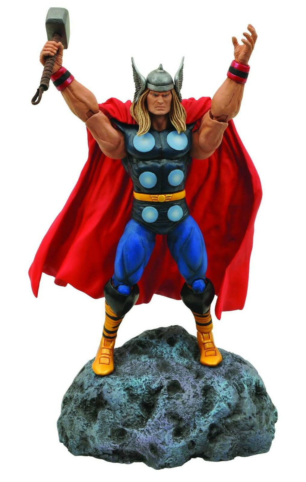 Marvel Select Classic Thor God Of Thunder wih Mjolnir Action Figure Diamond