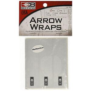 Bohning Blazer Wrap X-Small 4 inch Orange 12pk for Carbon Arrow BlazerWrap 18511