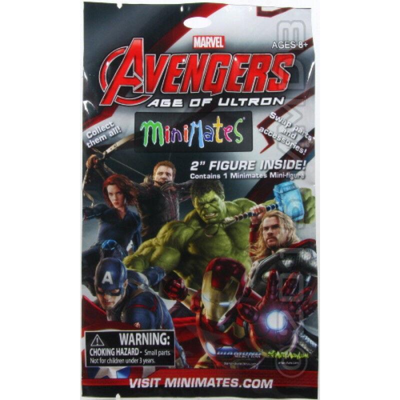 Avengers 2 Age of Ultron Marvel Minimates Mini-Figures 4 Blind Bags