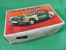 Ichiko Made in Japan - Mercedes Benz  Polizei in Box Tinplate