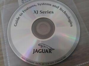 NEW GENUINE JAGUAR XJ8 X308 OPERATING FEATURES AUDIO CD DISC LIKE HANDBOOK XJR