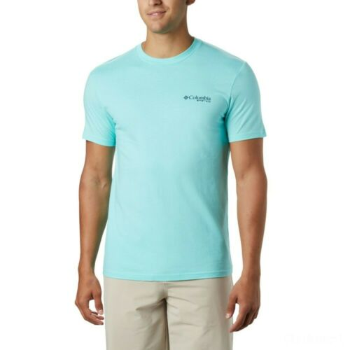 Colors and Sizes Columbia Men/'s Short Sleeve PFG Graphic T-Shirt