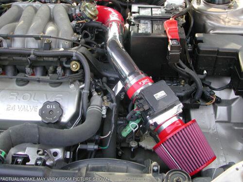 Injen SP1845BLK Black Cold Air Intake for Dodge 01-04 Stratus R//T 3.0L V6