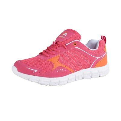 Action Activity Donna Fitness Jogging Sportscuhe Scarpe Sneaker Rosa- Qualità Eccellente