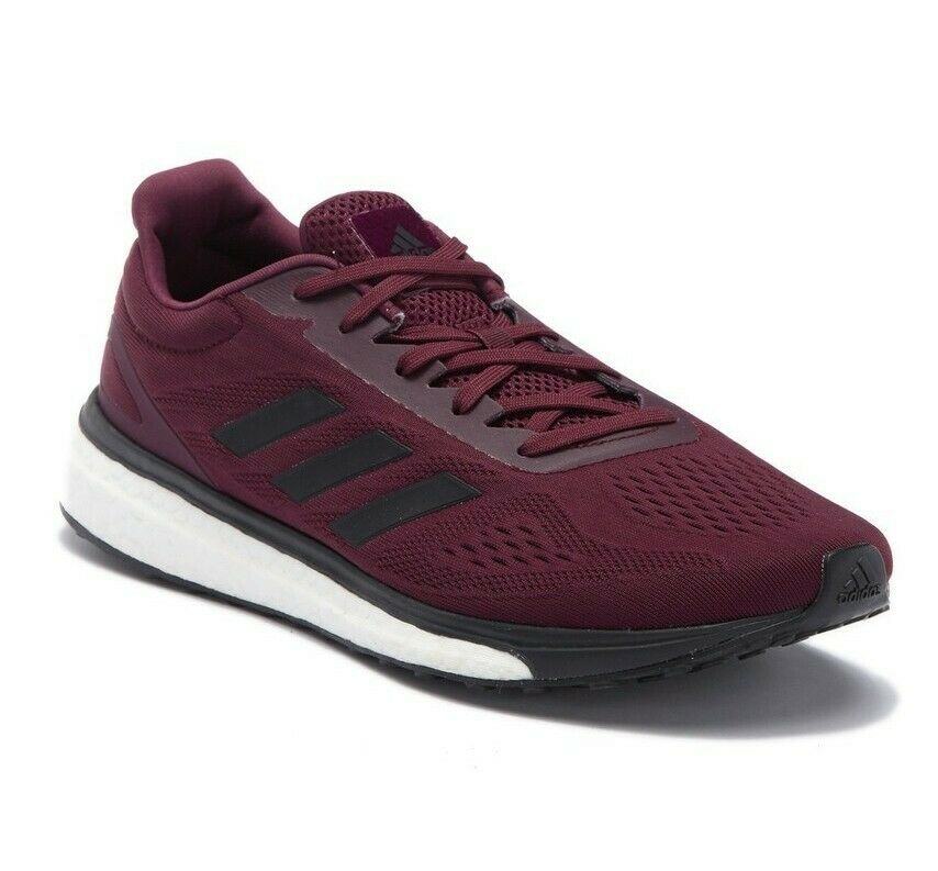 Adidas Boost Response LT Running shoes Size 10 Maroon New Retail  110