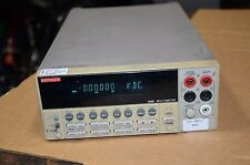 Keithley Multimeter Model # 2000 Options 1 & 2 Non Working