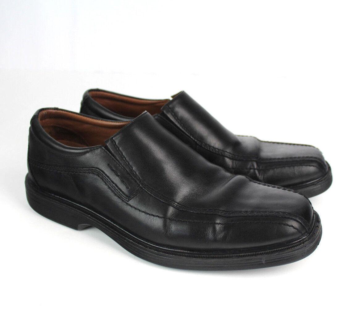 144 Johnston & Murphy Dress Shoes Size 9 Uomo Loafer XC4 Sheepskin Slip-On