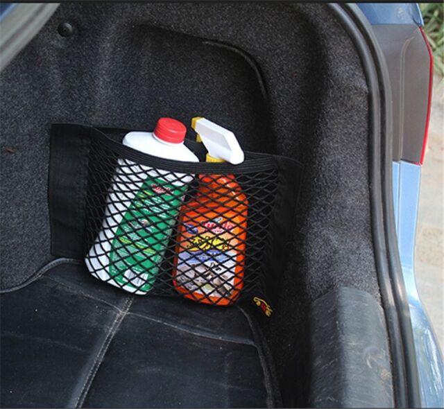 Car Back Rear Trunk Seat Elastic String Net Mesh Storage Bag Pocket Cage 1PC LH