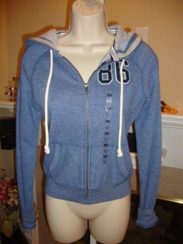 rara Secret e Victoria's nwt Felpa nuova blu con cappuccio di moda alla ZwwXxq4TC
