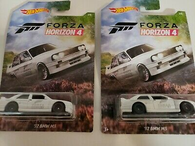Hot Wheels '92 Bmw M3 Forza Horizon 4 White 1//6 Fh4 Rare ☆☆FREE SHIPPING☆☆