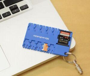 Livraison Rapide Original Super Slim Wallet Micro Sd Card Storage Holder Case Sd/sdhc/sdxc Usa Co Moderne Et EléGant à La Mode