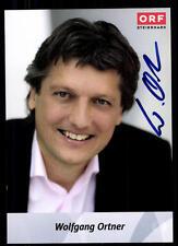 Wolfgang Ortner ORF Autogrammkarte Original Signiert ## BC 52146