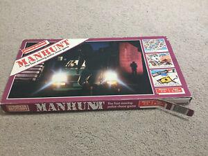 Manhunt-Board-Game-Complete-Parker-Brothers-1987-Vintage-Man-Hunt-Police-Chase