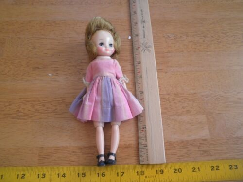 "8"" Betsty Mc Call doll VINTAGE in pink dress with shoes jointed HTF"