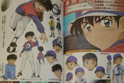 "JAPAN TV Animation MAJOR Characters Handbook /""Heroes/"" 1+2 set"