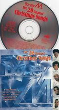 Boney M - 20 Greatest Christmas Songs - 1986 Ariola Eurodisc CD Canada Germany