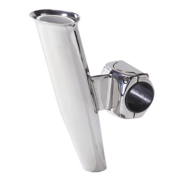 "53671A Ce Smith Flush Mt Rod Holder Silver Stainless 9/"" Dep 15 Deg"