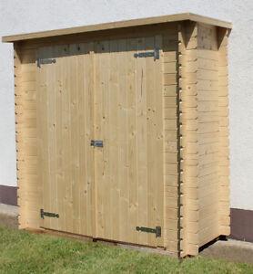 Armadio in legno per terrazzo o casetta da giardino per attrezzi block house ebay - Porta attrezzi da giardino in legno ...