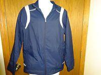 Men's North End Navy Blue Jacket Size Small Mesh Interior Adjustable Waist